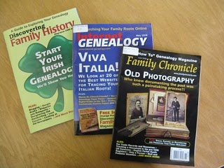 Genealogy periodicals