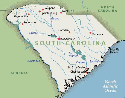 South Carolina Ancestors